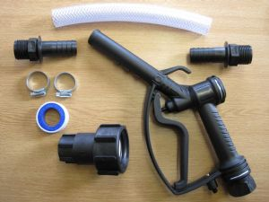 IBC Water / Fuel / Chemical Delivery Kit - Nylon Reinforced Hose